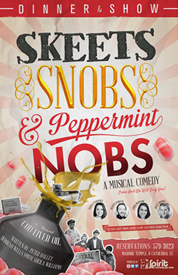 skeets, snobs and peppermint knobs