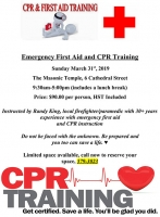 Emergency First Aid and CPR Training